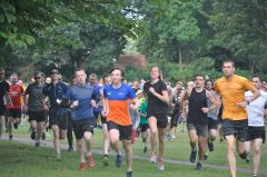Rhys Williams is running the parkrun route next Saturday with the volunteers